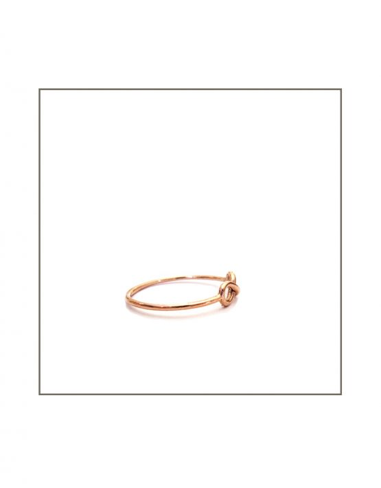 Infinity - Rose Gold Side
