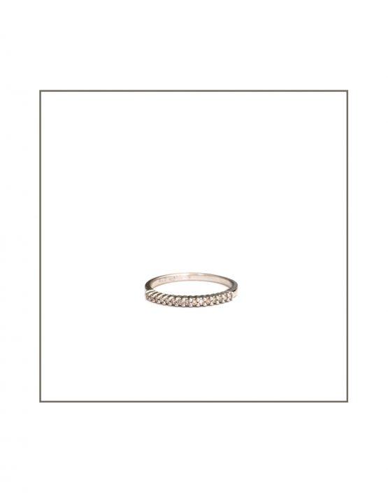 Diamond Pin Claw Band