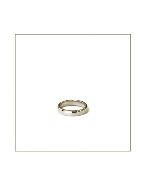 White Gold Gents Ring