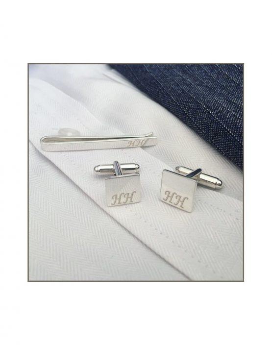 Tie Bar & Cufflink Set HH