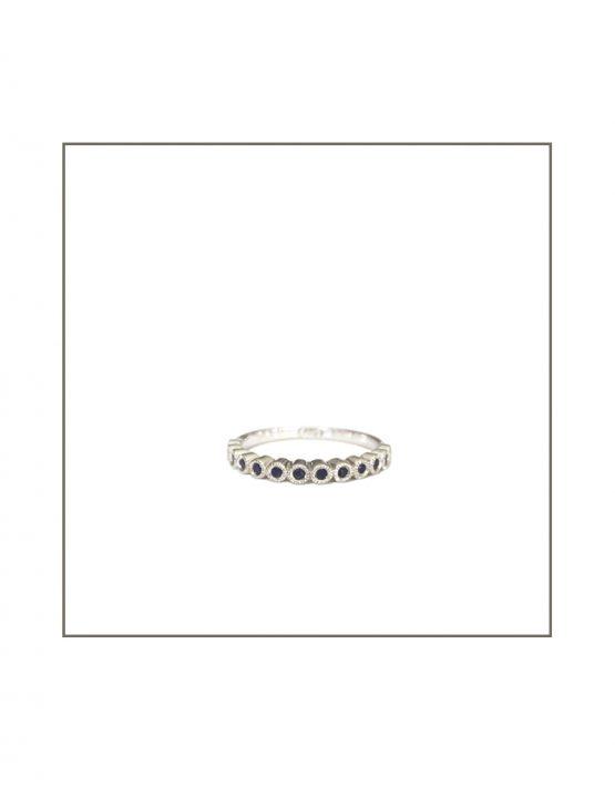 Tube Set Black Diamond Ring 1.3mm