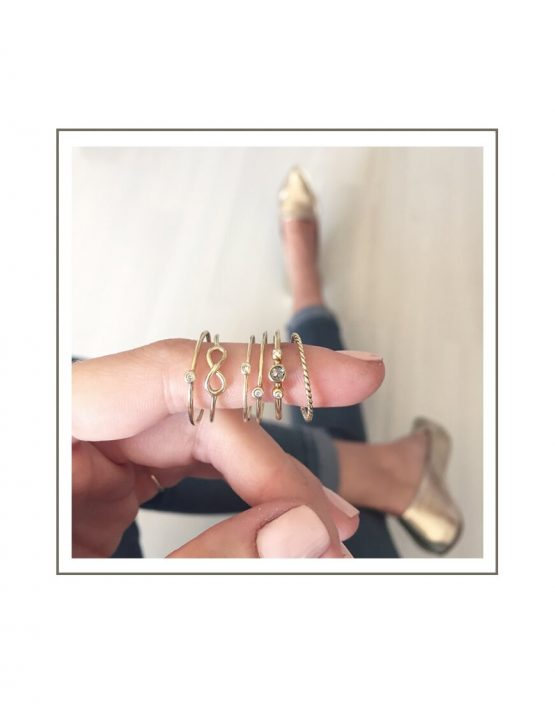 Gold Rings Styled