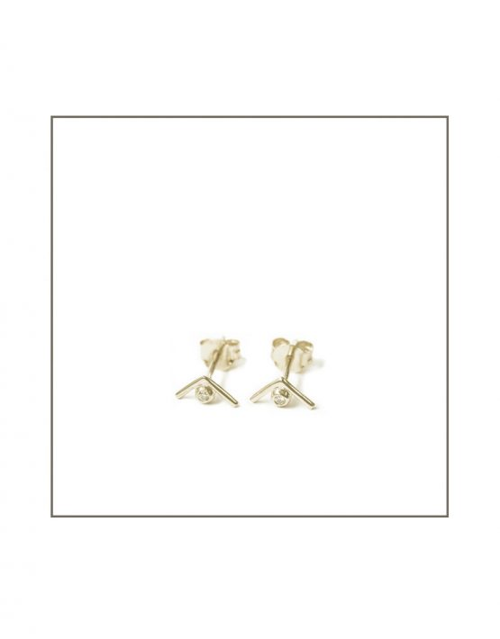 silver-diamond-triangle-stud-earrings