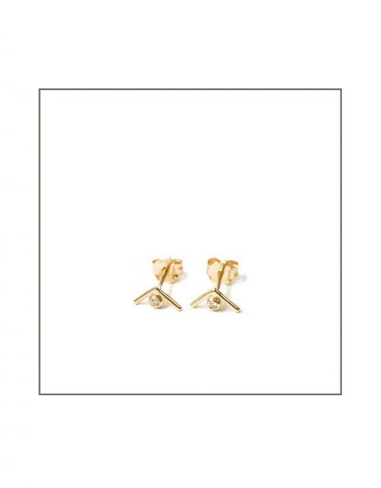 yellow-gold-diamond-triangle-earring